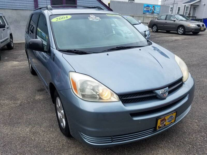 2004 Toyota Sienna for sale at Fortier's Auto Sales & Svc in Fall River MA