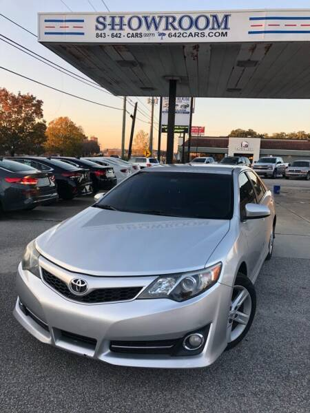 2013 Toyota Camry for sale at Showroom Auto Sales of Charleston in Charleston SC