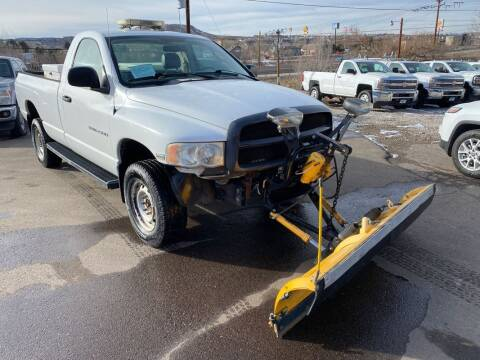 2005 Dodge Ram Pickup 2500 for sale at BERKENKOTTER MOTORS in Brighton CO