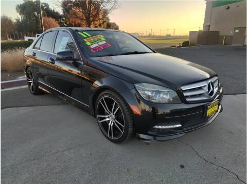 2011 Mercedes-Benz C-Class for sale at D & I Auto Sales in Modesto CA