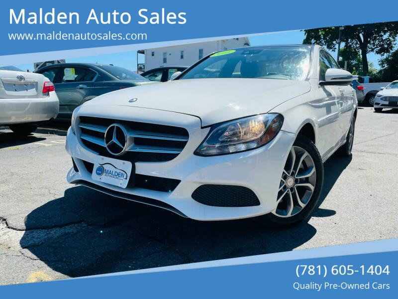2016 Mercedes-Benz C-Class for sale at Malden Auto Sales in Malden MA