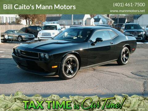 2013 Dodge Challenger for sale at Bill Caito's Mann Motors in Warwick RI