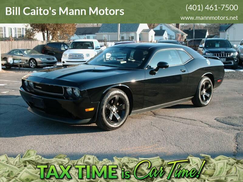 2013 Dodge Challenger for sale at Bill Caito's Mann Motors in Warwick RI