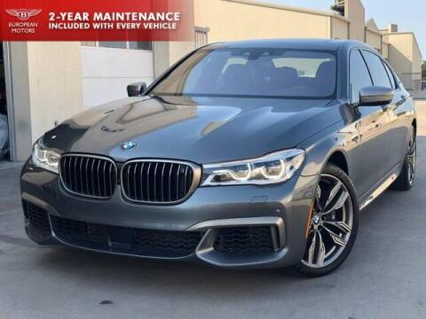 2019 BMW 7 Series for sale at European Motors Inc in Plano TX