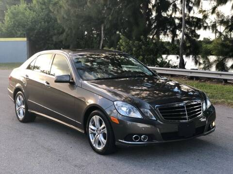 2011 Mercedes-Benz E-Class for sale at CAR UZD in Miami FL
