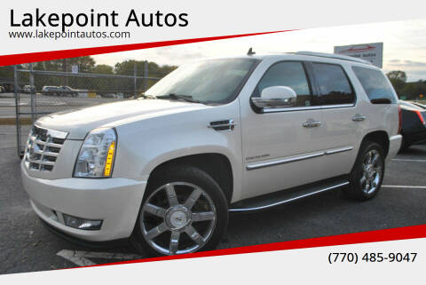 2012 Cadillac Escalade for sale at Lakepoint Autos in Cartersville GA