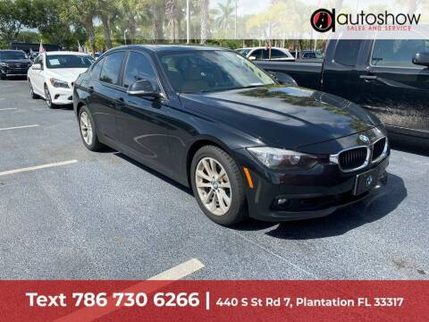 2016 BMW 3 Series for sale at AUTOSHOW SALES & SERVICE in Plantation FL