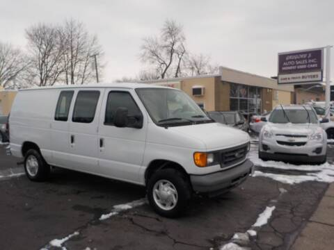 2007 Ford E-Series Cargo for sale at Gregory J Auto Sales in Roseville MI