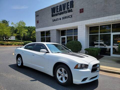 2011 Dodge Charger for sale at Weaver Motorsports Inc in Cary NC