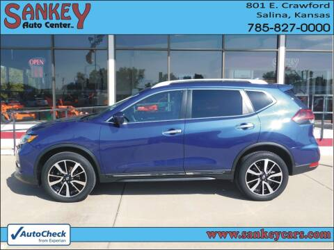 2019 Nissan Rogue for sale at Sankey Auto Center, Inc in Salina KS