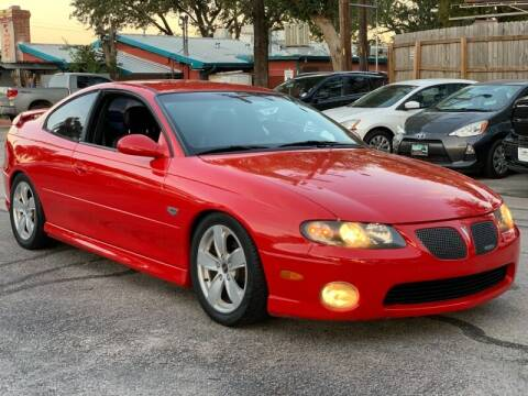 2004 Pontiac GTO for sale at AWESOME CARS LLC in Austin TX