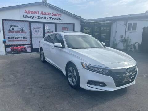 2020 Honda Accord for sale at Speed Auto Sales in El Cajon CA
