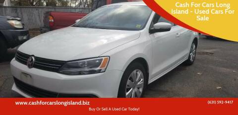 2013 Volkswagen Jetta for sale at Cash For Cars Long Island - Used Cars For Sale in Lindenhurst NY