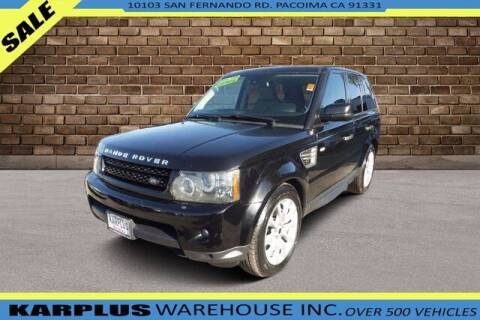 2010 Land Rover Range Rover Sport for sale at Karplus Warehouse in Pacoima CA