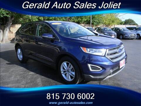 2016 Ford Edge for sale at Gerald Auto Sales in Joliet IL