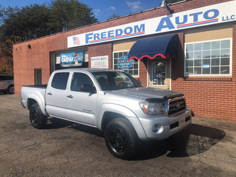 2010 Toyota Tacoma for sale at FREEDOM AUTO LLC in Wilkesboro NC