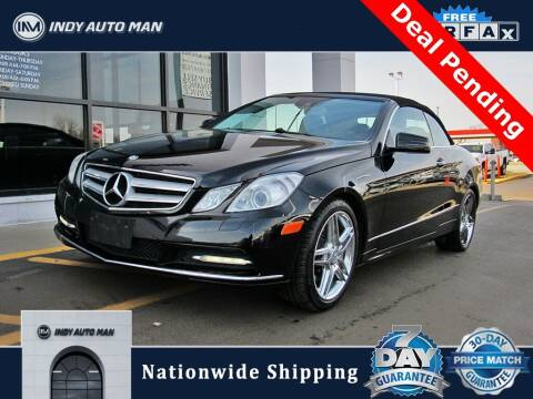2013 Mercedes-Benz E-Class for sale at INDY AUTO MAN in Indianapolis IN