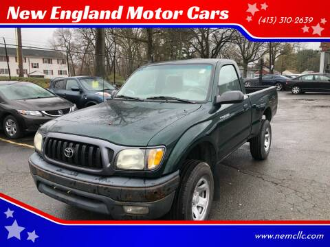2001 Toyota Tacoma for sale at New England Motor Cars in Springfield MA