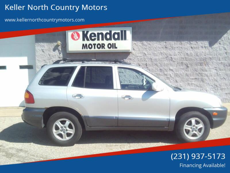2004 Hyundai Santa Fe for sale at Keller North Country Motors in Howard City MI