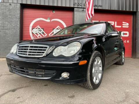 2005 Mercedes-Benz C-Class for sale at Apple Auto Sales Inc in Camillus NY