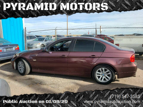 2006 BMW 3 Series for sale at PYRAMID MOTORS - Fountain Lot in Fountain CO