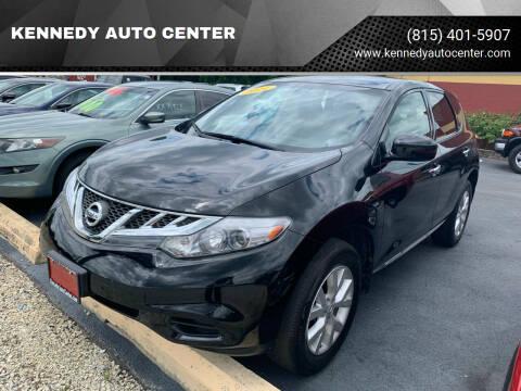 2014 Nissan Murano for sale at KENNEDY AUTO CENTER in Bradley IL