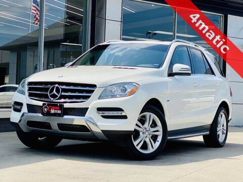 2012 Mercedes-Benz M-Class for sale at Carmel Motors in Indianapolis IN