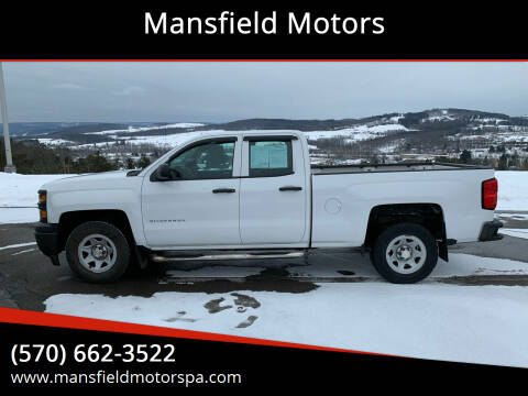 2014 Chevrolet Silverado 1500 for sale at Mansfield Motors in Mansfield PA
