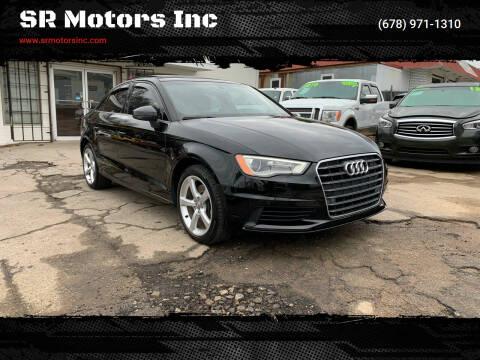 2015 Audi A3 for sale at SR Motors Inc in Gainesville GA