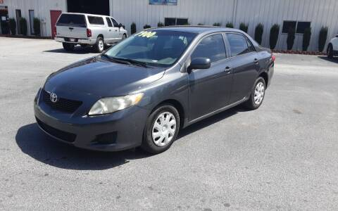 2010 Toyota Corolla for sale at Mathews Used Cars, Inc. in Crawford GA