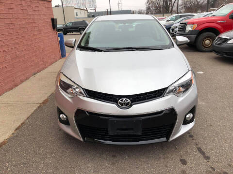 2015 Toyota Corolla for sale at Nice Cars Auto Inc in Minneapolis MN