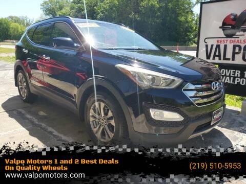 2013 Hyundai Santa Fe Sport for sale at Valpo Motors Inc. in Valparaiso IN