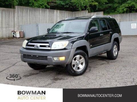 2003 Toyota 4Runner for sale at Bowman Auto Center in Clarkston MI