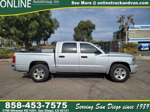2011 RAM Dakota for sale at Online Auto Group Inc in San Diego CA