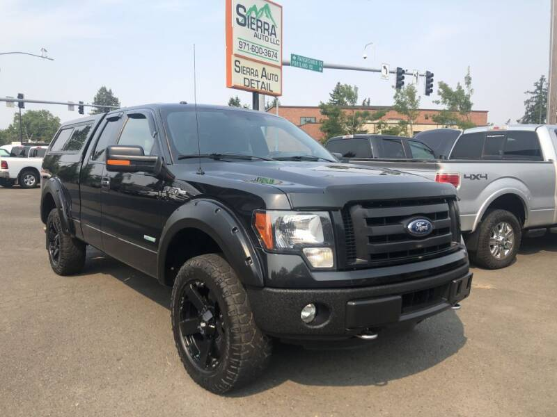 2014 Ford F-150 for sale at SIERRA AUTO LLC in Salem OR