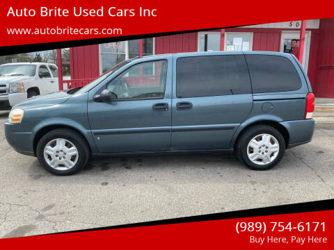 2006 Chevrolet Uplander for sale at Auto Brite Used Cars Inc in Saginaw MI