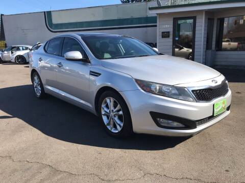 2013 Kia Optima for sale at Salem Auto Market in Salem OR