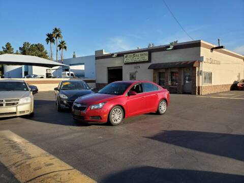 2011 Chevrolet Cruze for sale at Auto Solutions in Mesa AZ