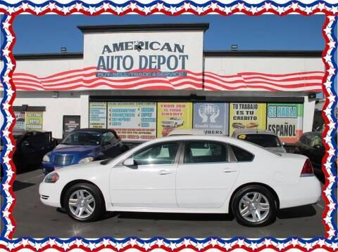 2013 Chevrolet Impala for sale at American Auto Depot in Modesto CA