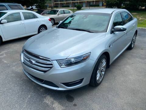 2017 Ford Taurus for sale at J Franklin Auto Sales in Macon GA