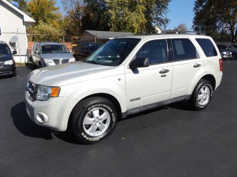 2008 Ford Escape for sale at Goodman Auto Sales in Lima OH