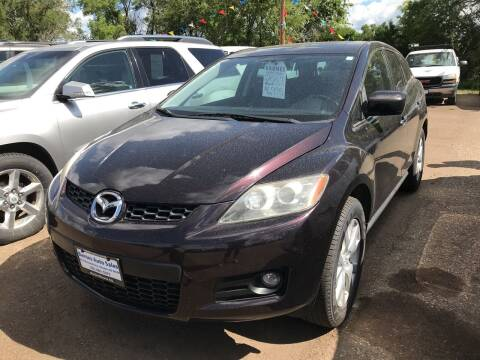 2007 Mazda CX-7 for sale at BARNES AUTO SALES in Mandan ND