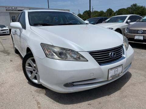 2009 Lexus ES 350 for sale at KAYALAR MOTORS Mechanic in Houston TX