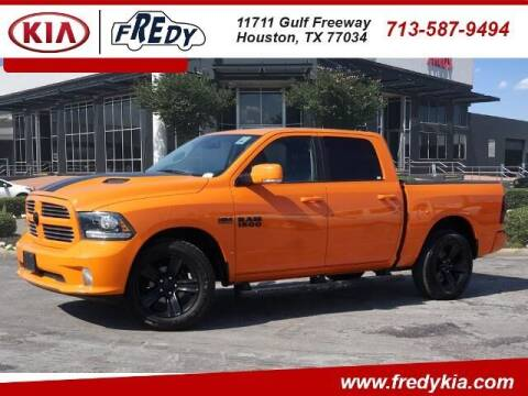 2017 RAM Ram Pickup 1500 for sale at FREDY KIA USED CARS in Houston TX