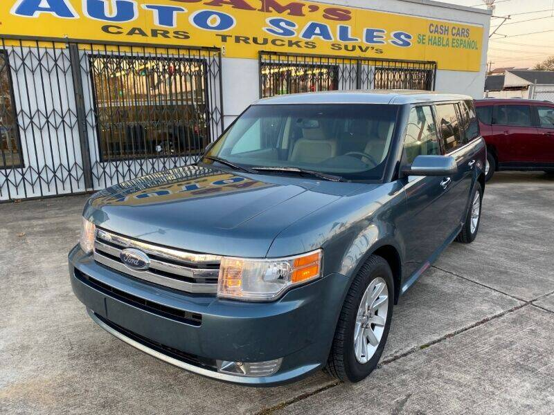 2010 Ford Flex for sale at Sam's Auto Sales in Houston TX