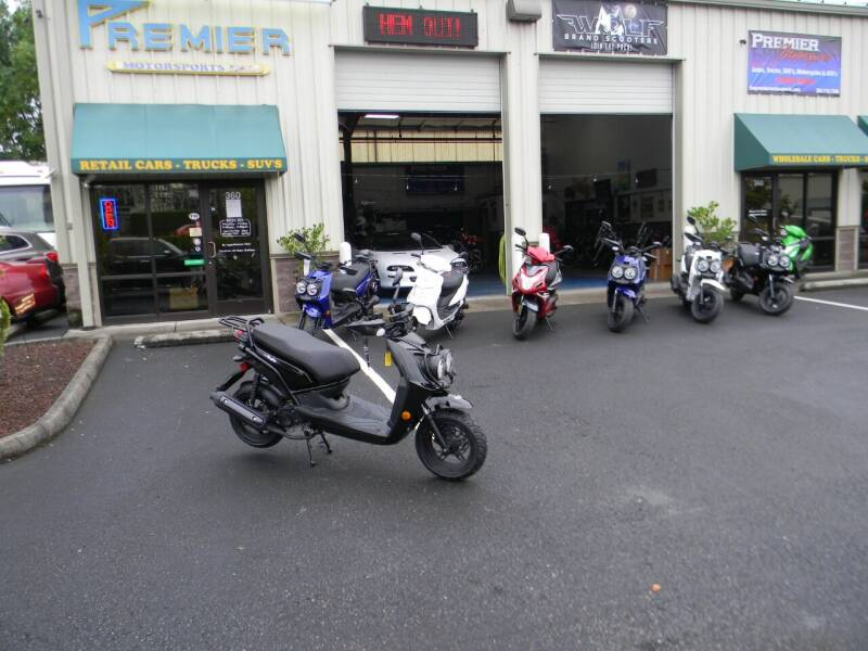 2021 Wolf Brand Scooters Rubgy for sale at PREMIER MOTORSPORTS in Vancouver WA