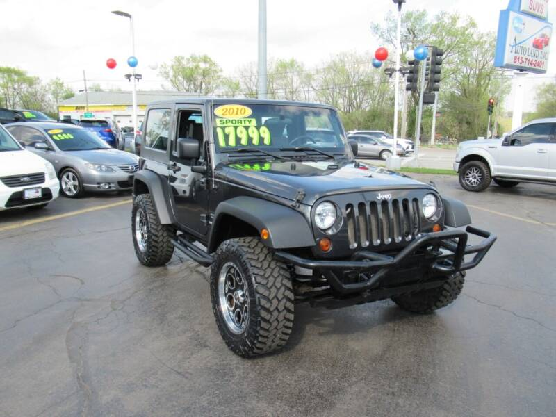 2010 Jeep Wrangler for sale at Auto Land Inc in Crest Hill IL