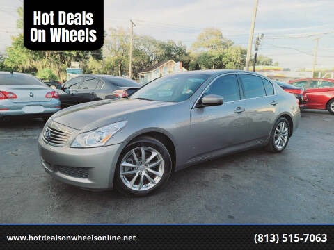 2009 Infiniti G37 Sedan for sale at Hot Deals On Wheels in Tampa FL