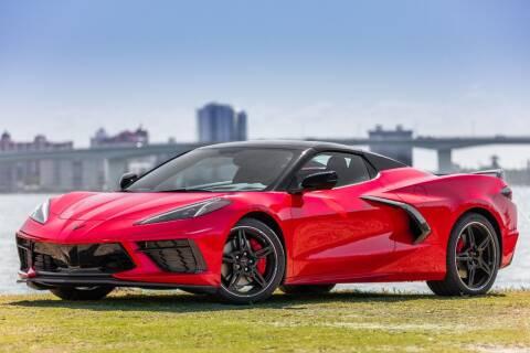2021 Chevrolet Corvette for sale at PAUL YODER AUTO SALES INC in Sarasota FL
