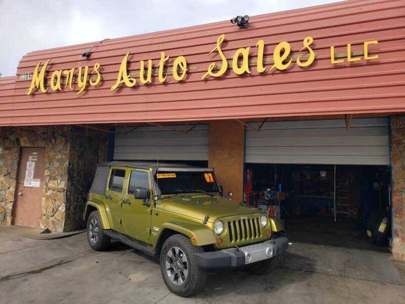 2007 Jeep Wrangler Unlimited for sale at Marys Auto Sales in Phoenix AZ